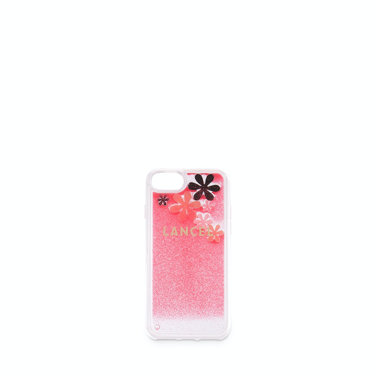 Fleurs – Coque Iphone 6.7.8 – Rose Fluo – The Village Outlet