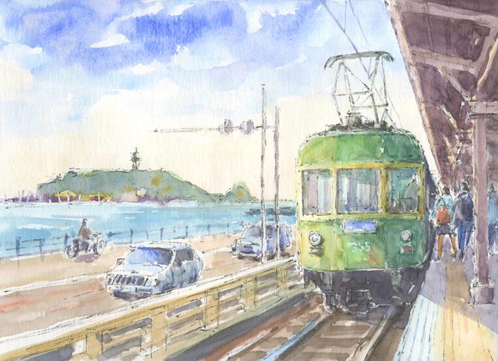海辺の駅 鎌倉高校前駅 #410
