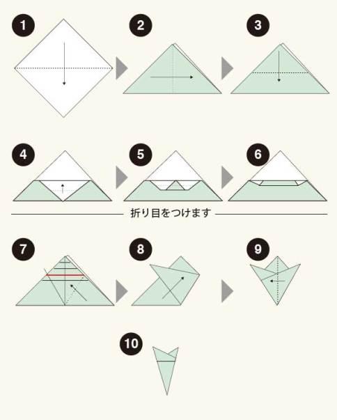 切り絵 基本の6角形