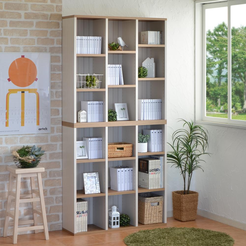 フレンチカントリー風シンプル本棚