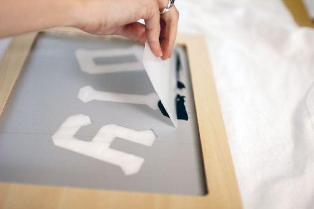 シルクスクリーン 孔版印刷