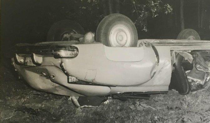 ポロック 自動車事故