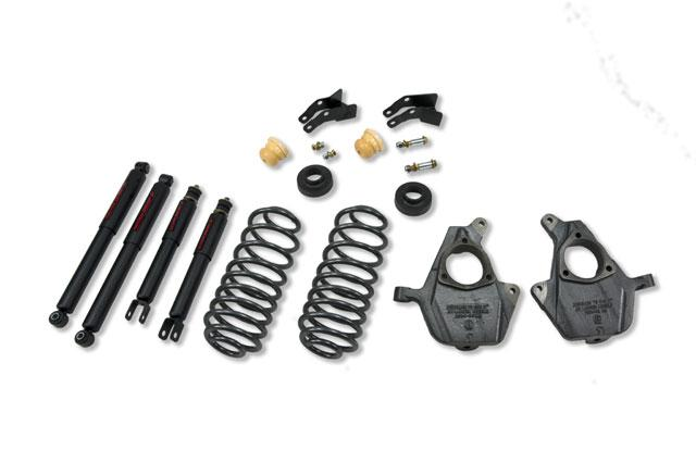Belltech 759nd Lowering Kit With Nitro Drop 2 Shocks