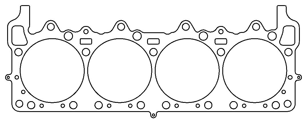 Cometic C5455-120 .120in MLS 4.37in GASKET BORE