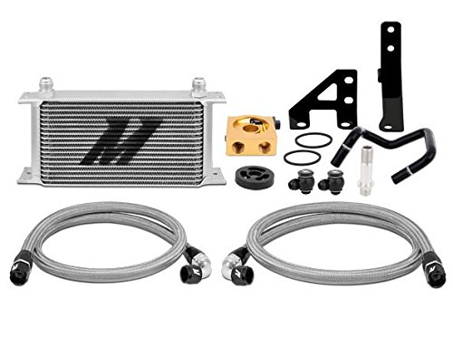 Mishimoto Mmoc-Wrx-15t Silver Thermostatic Oil Cooler Kit