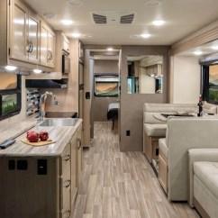 Leatherette Sofa Set Modern A.c.e. Class A Motorhomes   Thor Motor Coach