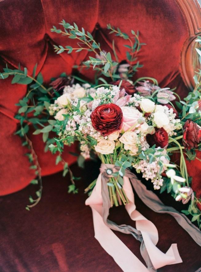 Bröllopsbukett av The Wild Rose