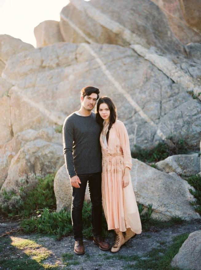 Förlovningsfotografering i Kalifornien
