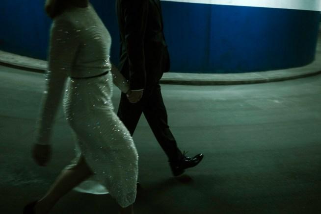 Bröllopsfotografering i en tunnel med Liam Warton