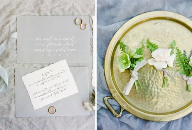 bröllopsdetaljer och trycksaker