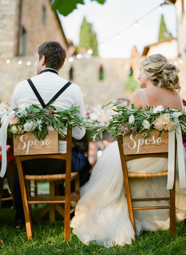 Bröllopsmiddag utomhus