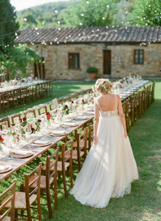 Bröllopsmiddag i Toscana