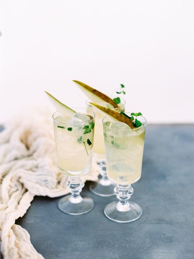 Pear Infusion svalkande drink till bröllopsfesten