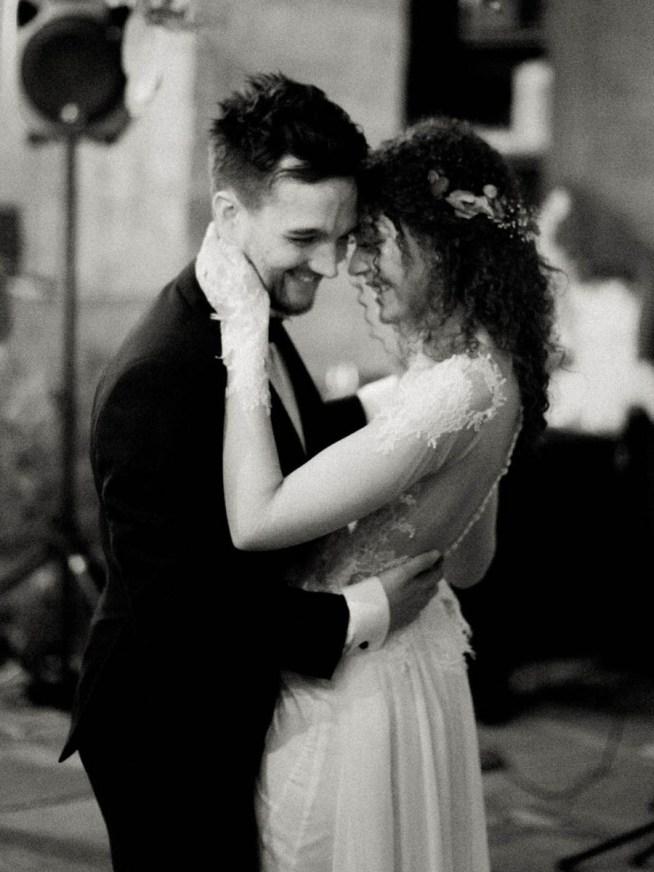 första dansen på bröllopet