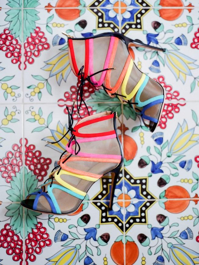 Regnbågsfärgare skor på bröllopet? Om att våga hitta sin stil som brud