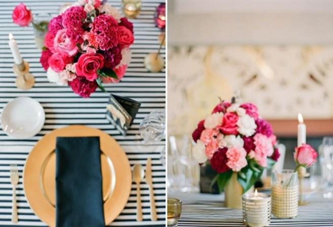 Bröllopsdukning inspirerad av La Dolce Vita & Dolce Gabbana