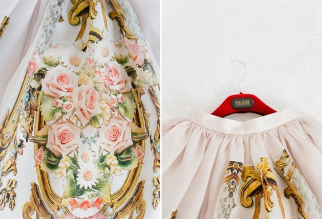 Bröllopskjol inspirerad av La Dolce Vita & Dolce Gabbana
