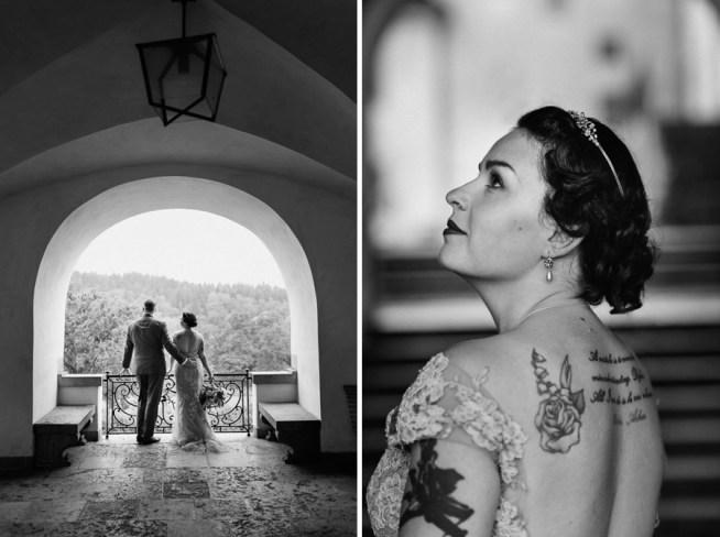bröllopsporträtt av bröllopsfotograf Heléne Grynfarb