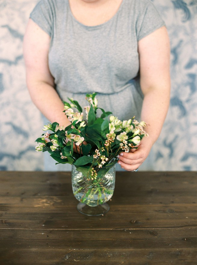 bordsarrangemang do it yourself med florist Linnéa Bergqvist