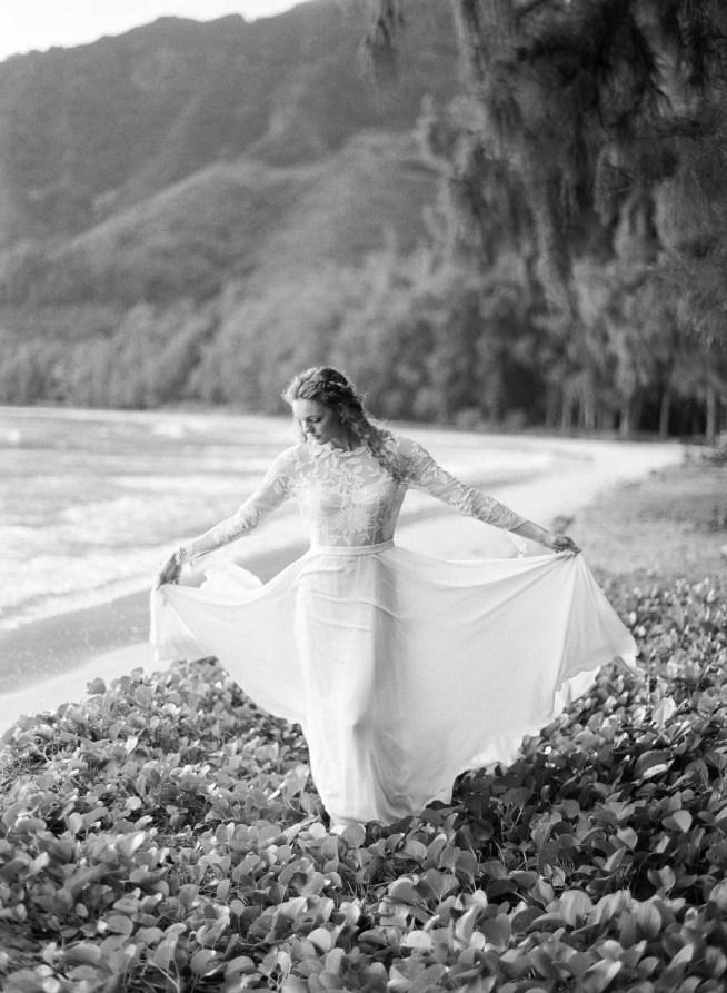 bröllop på stranden på Hawaii