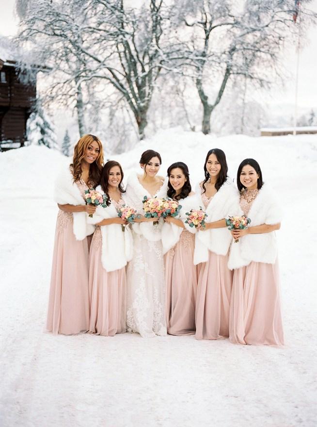 Tärnklänningar i puderrosa 2 Brides Photography