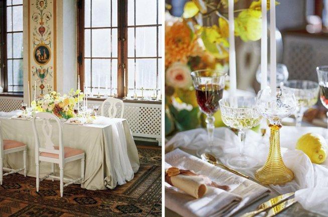matsal på Rånäs slott