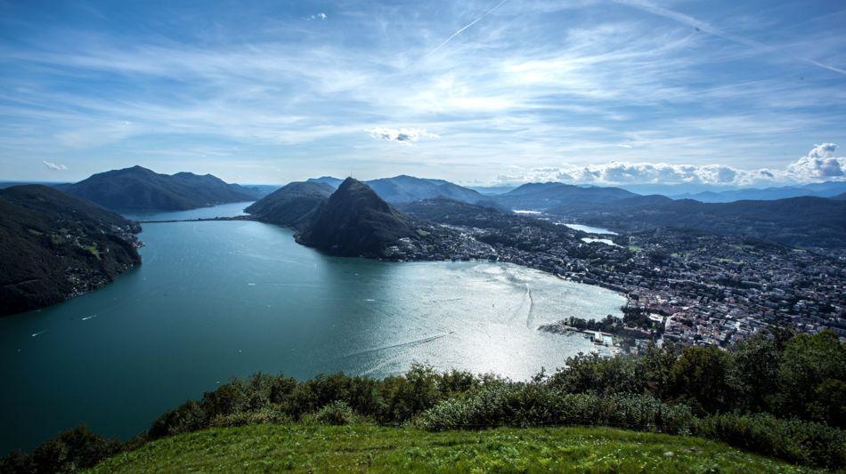 Ticino Weekend - Monte Brè. kleiner Berg mit grosser Aussicht
