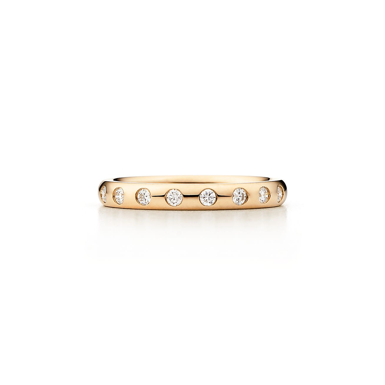 Elsa Peretti Stacking Band Ring In 18k Gold With Eight