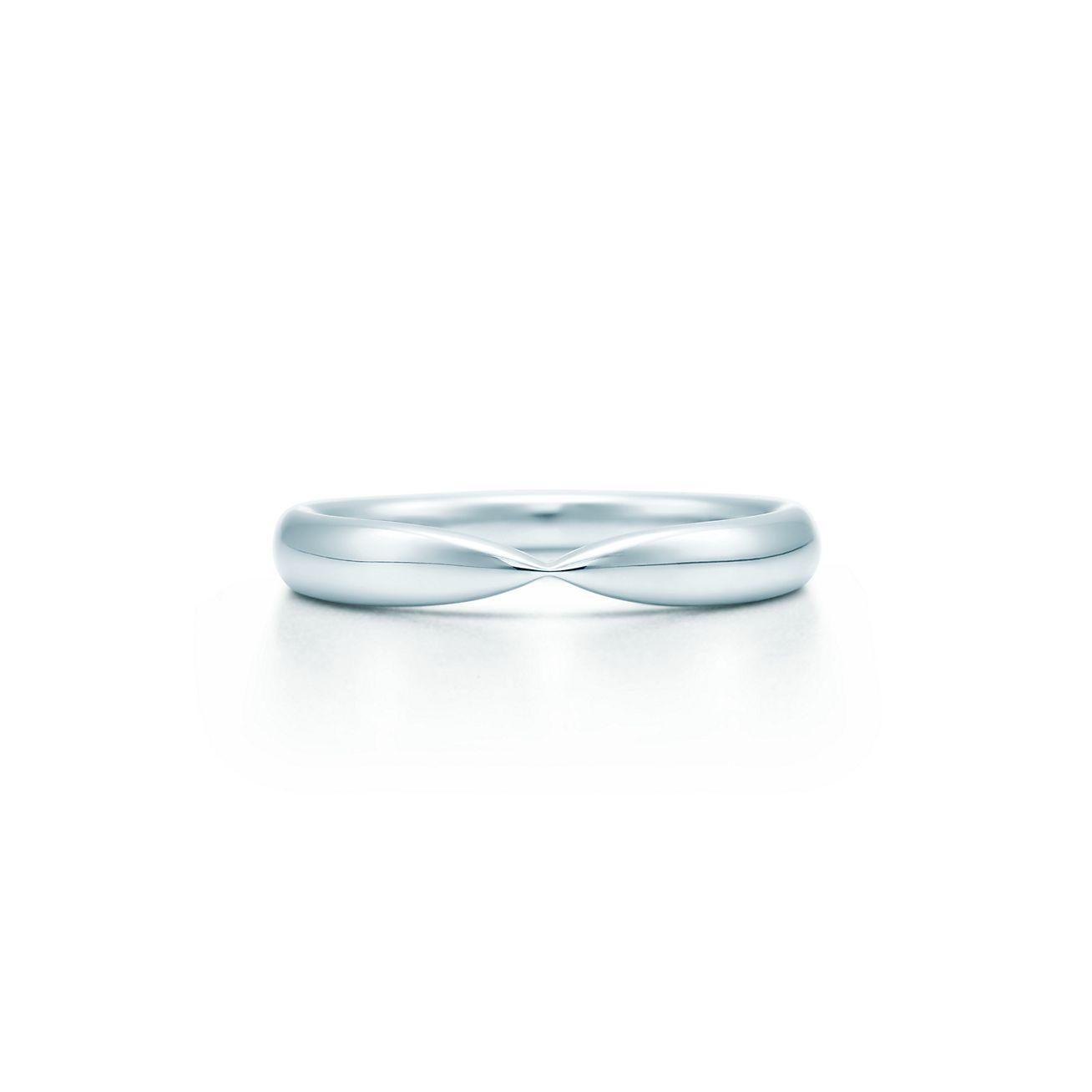 Tiffany Harmony Wedding Band In Platinum 3 Mm Wide