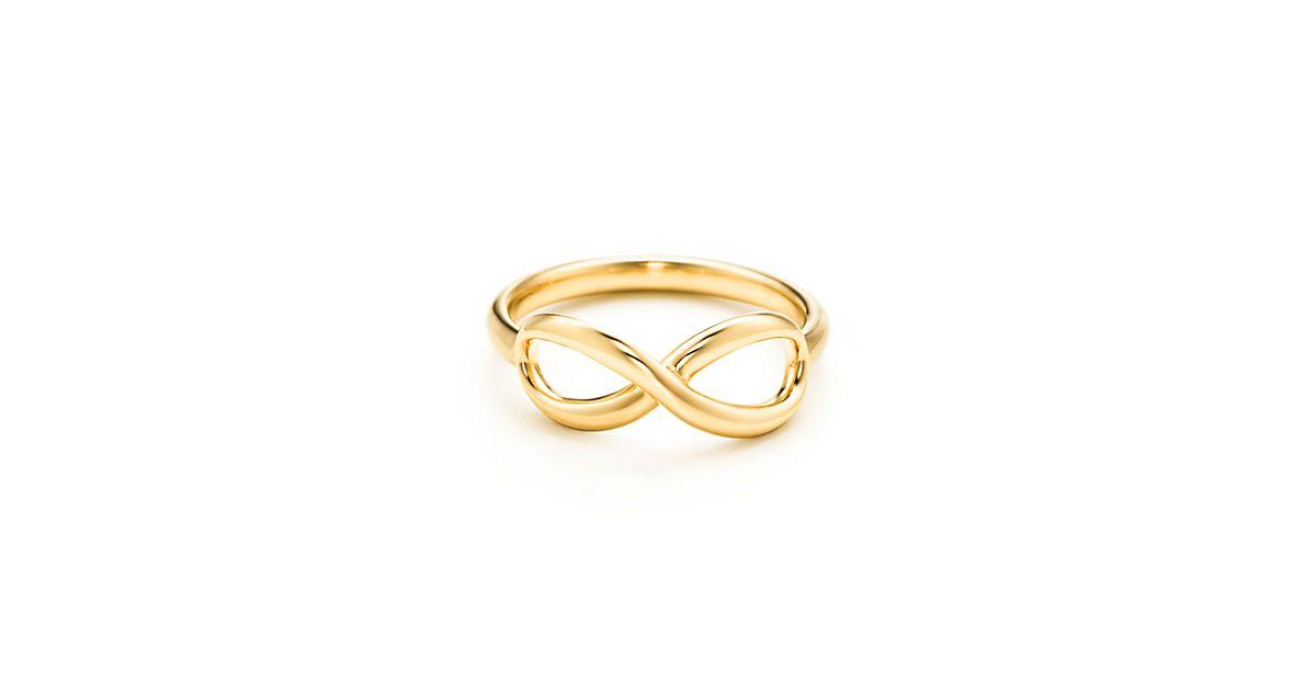 Tiffany Infinity ring in 18k gold   Tiffany & Co.
