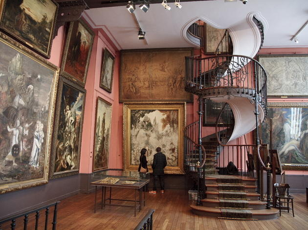 Muse National Gustave Moreau  Museums in SaintGeorges