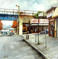 """Staten Island, Remember When? Paintings by Fred Sklenar"
