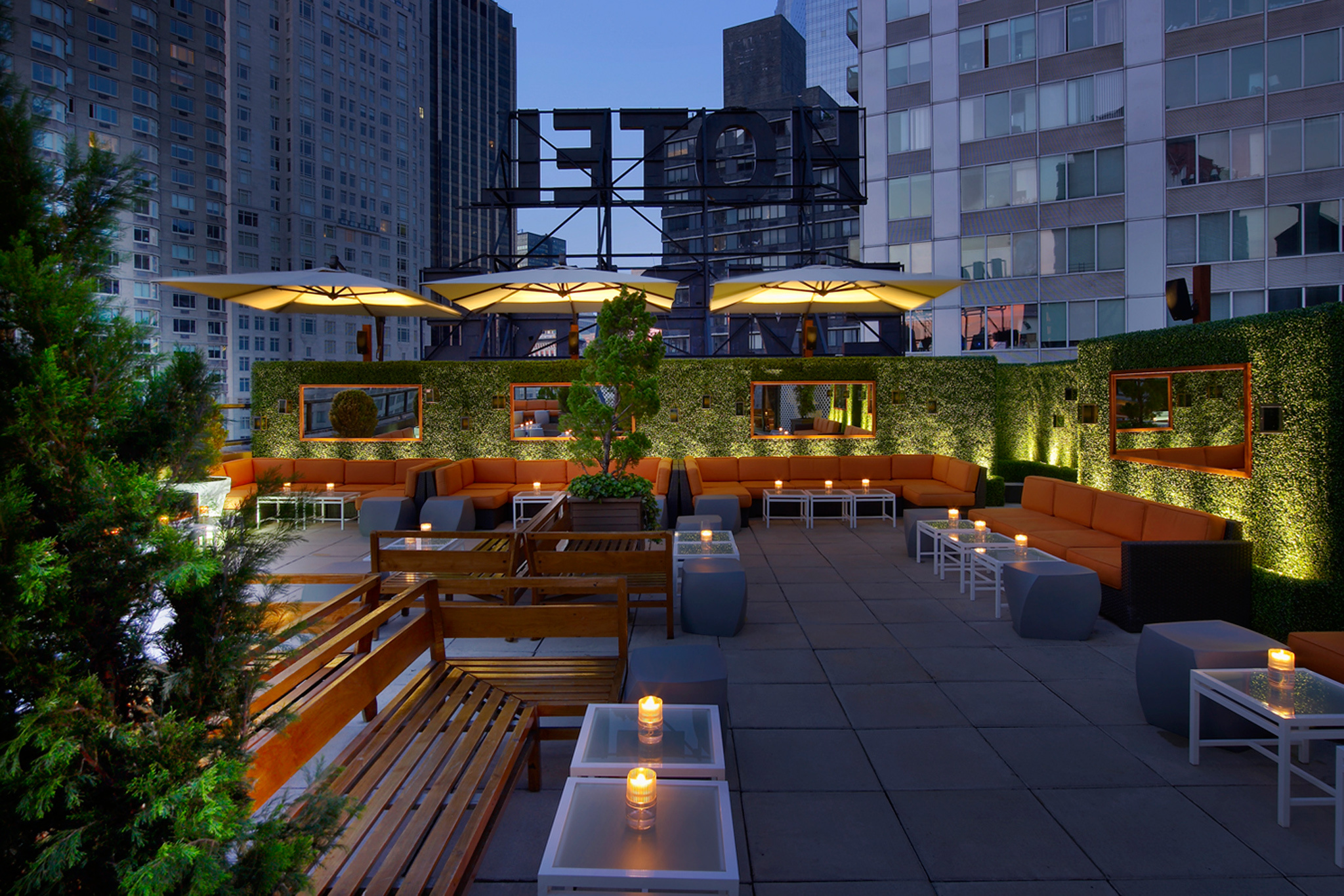 Non-douchey Rooftop Bars For The Best Outdoor Drinking