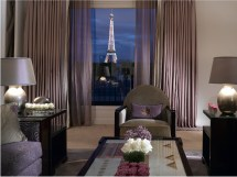 Paris Eiffel Tower View Hotel Room