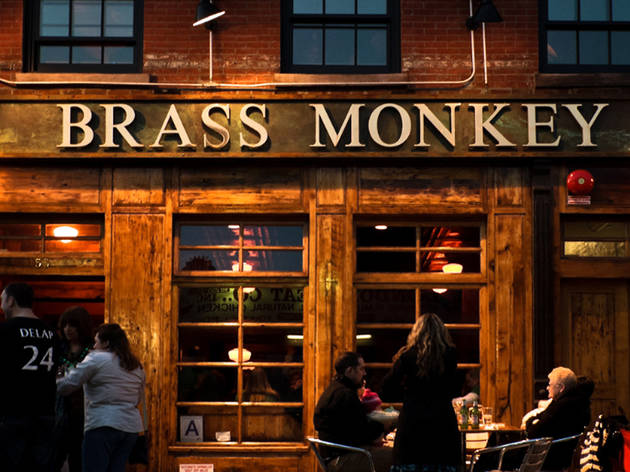 Brass Monkey  Bars in Meatpacking District New York