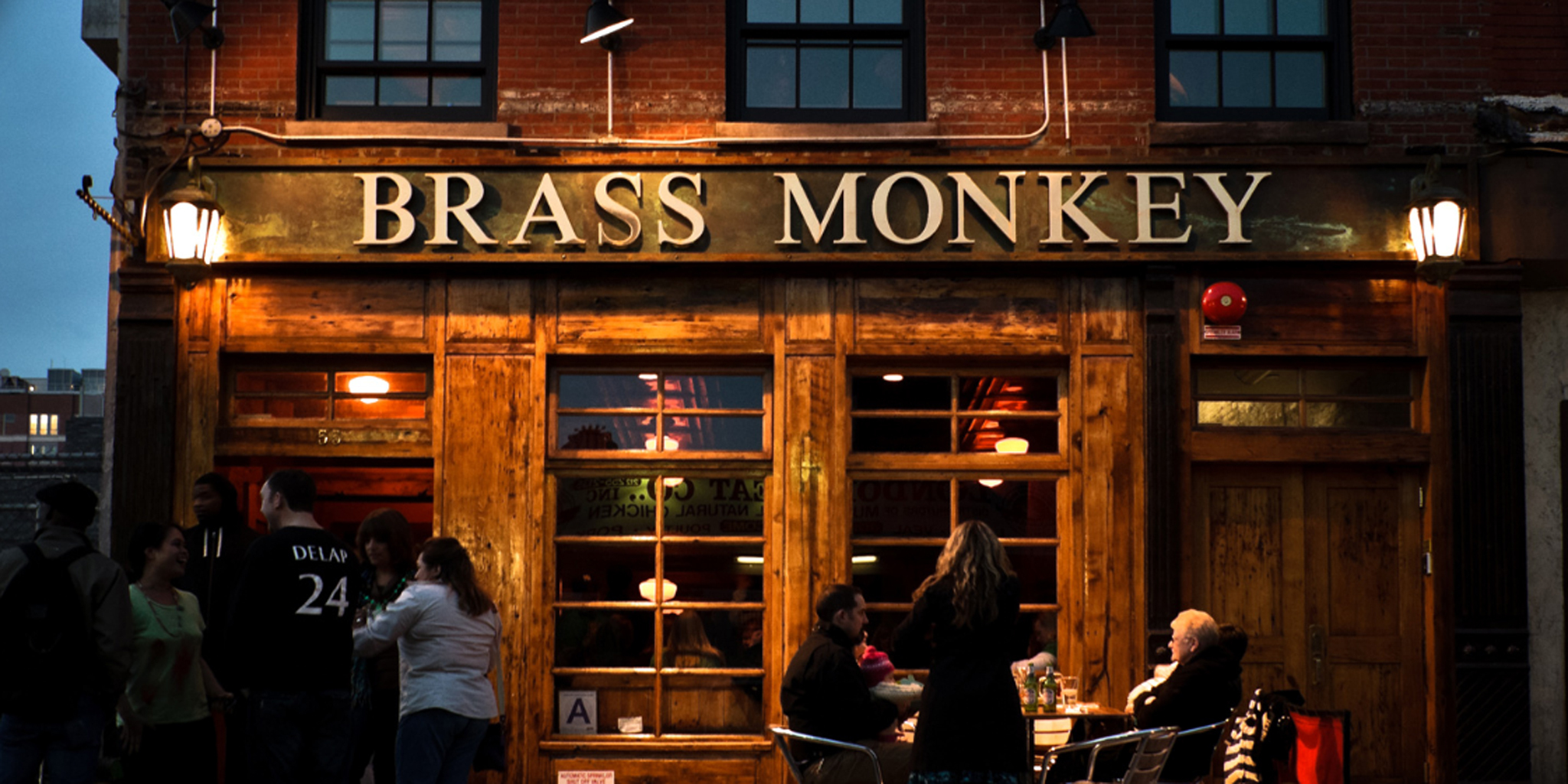 Brass Monkey Bar