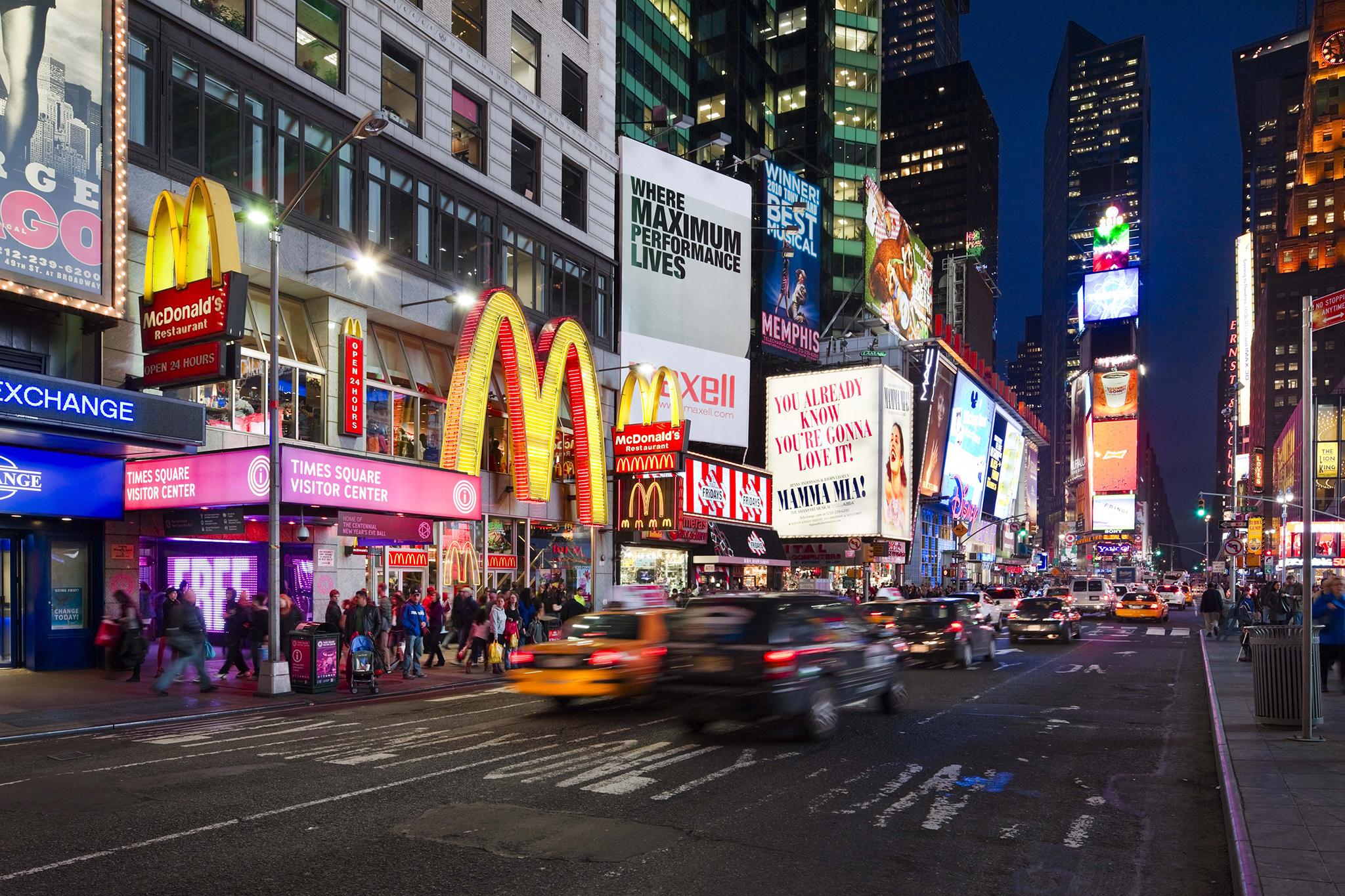 Cheap Eats Times Square