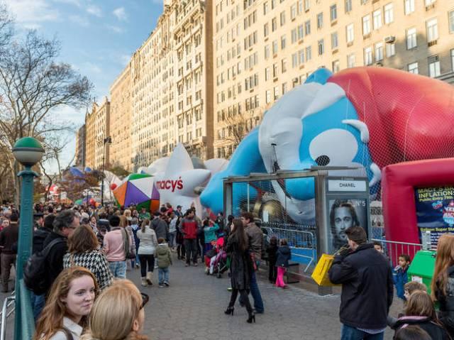 Resultado de imagen de balloon inflation nyc
