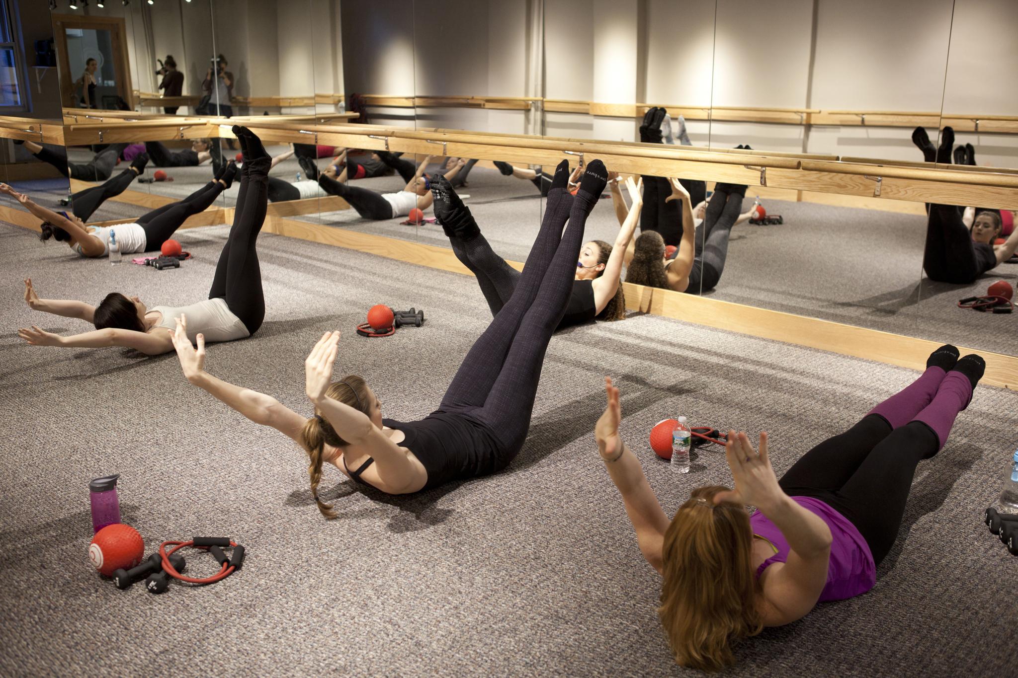 Ballet Warm Exercises