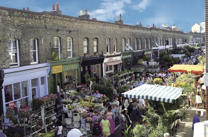columbia road flower market guide | tips for buying flowers at