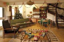 1970s Living Room Christmas
