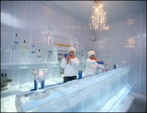 Chambers Hotel Ice Bar Minneapolis
