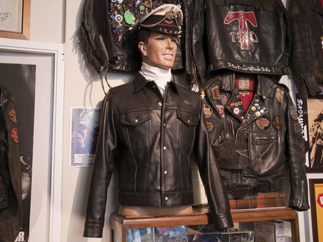 Lewis Leathers  Shopping in Fitzrovia London