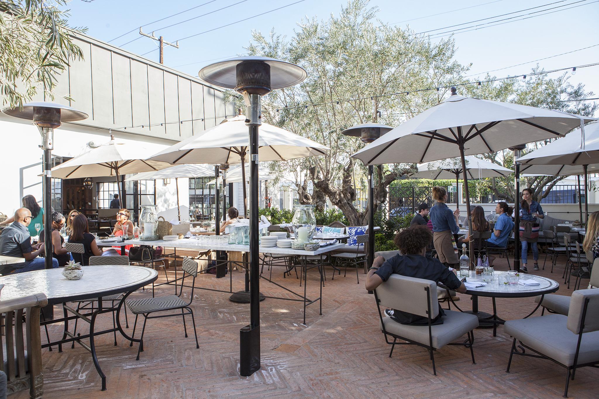 best outdoor dining restaurants in los