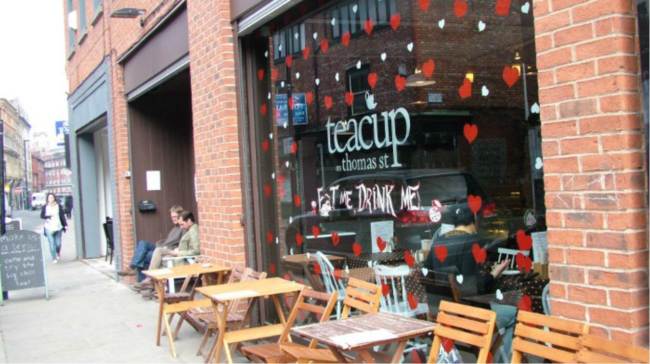 Teacup Kitchen  Restaurants in Northern Quarter Manchester