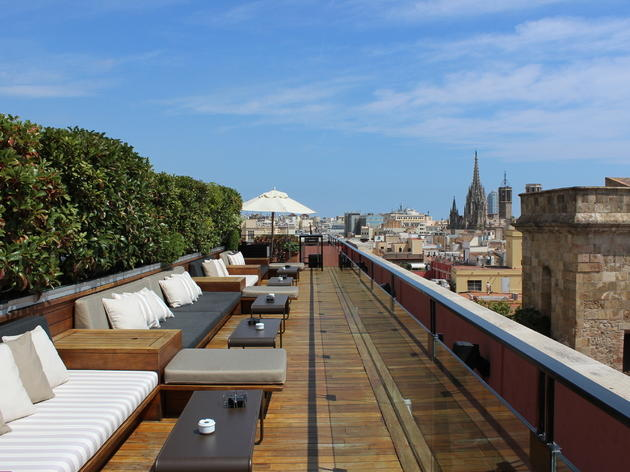 Barcelona rooftop bars Drinks with a view