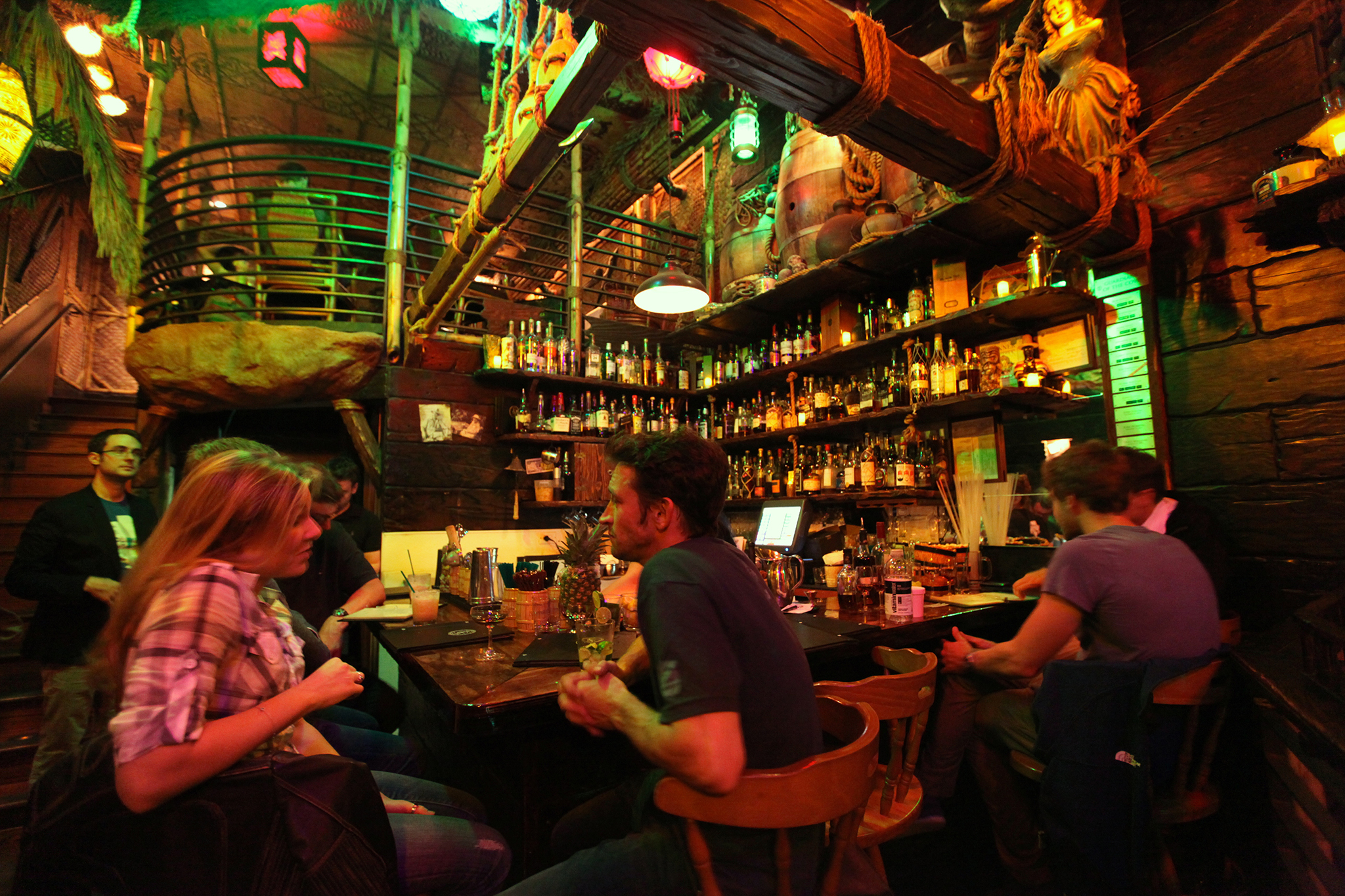 Smugglers Cove  Bars in Hayes Valley San Francisco