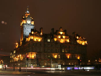 Sleep in the lap of luxury at the Balmoral