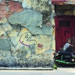 Swing Chair Penang Small Futon Cushion Street Art In