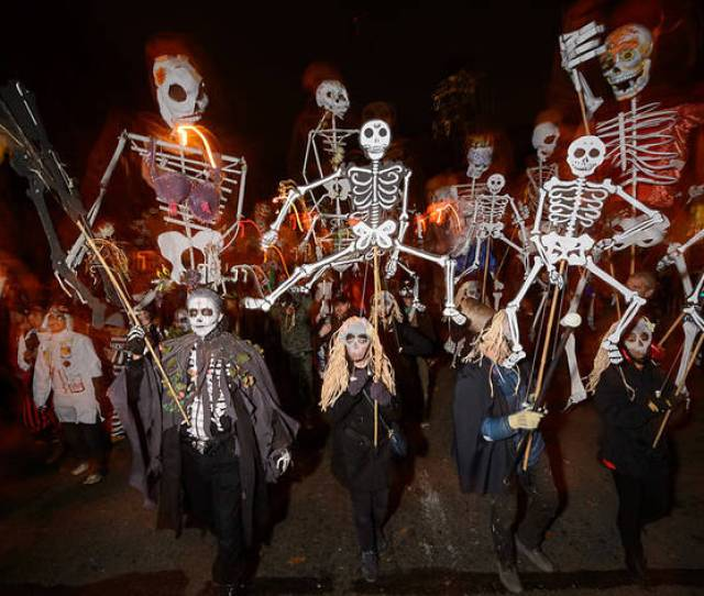 See The Most Ghoul Tastic Photos From The Village Halloween Parade